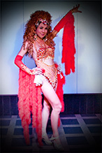 Lady Boy Katoey show at Adam's Apple Gay Club in Chiang Mai