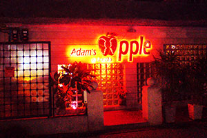 Adam's Apple Gay Club Chiang Mai entrance