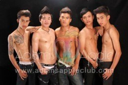 Gay Boys at Adams Apple Gay Bar Chiang Mai