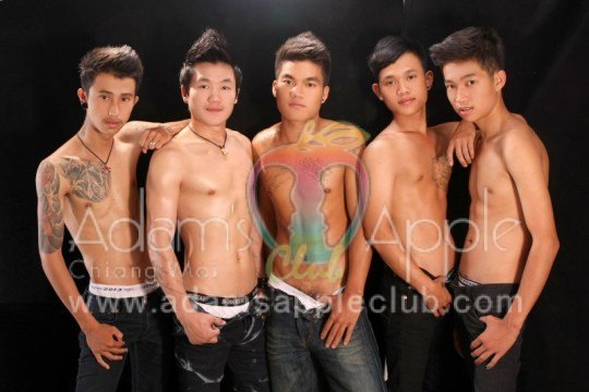 Adam's Apple Club has the most handsome and good looking selection of guys in Chiang Mai.