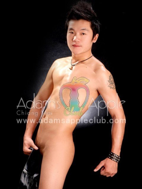 gay dancer at Adams Apple Club