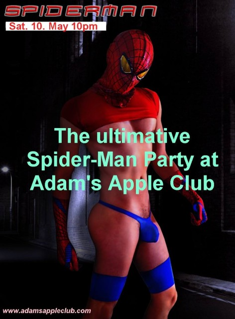 Adam's Apple Spiderman Party