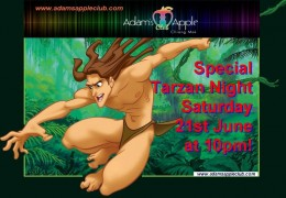 Adam's Apple Club Tarzan Night