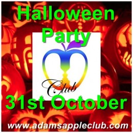 Halloween Party 2014 at Adam's Apple Club