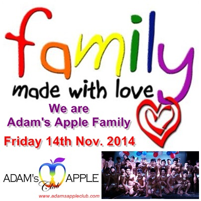 Adams Apple we are family 1
