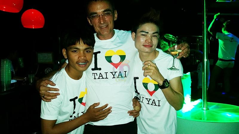 I love Tai Yai - Tai Yai Boys Adams Apple Club