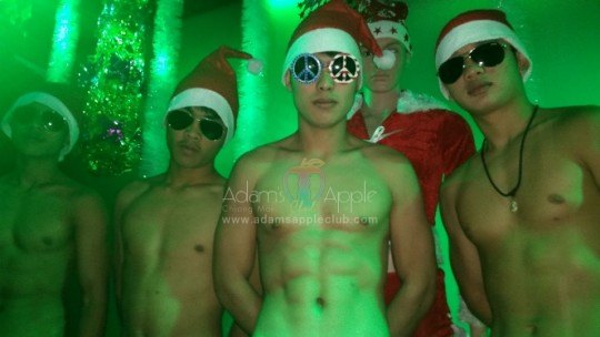 X-Mas Adams boys at Apple Club Chiang Mai