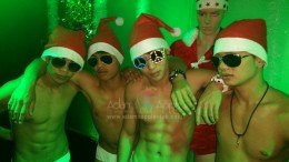 Happy Christmas from the boys at Adam's Apple Club Gay Bar Chiang Mai