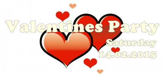 02.02. Valentines Party Adams Banner