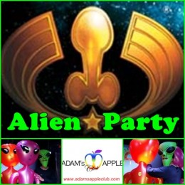 Alien Party Adams Apple Club