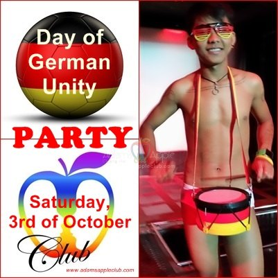 German Unity Day Adams Apple Club Chiang Mai Gay Bar