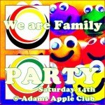 We are Adams Apple Family