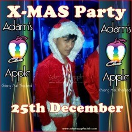 X-Mas Adams Apple Club 2015