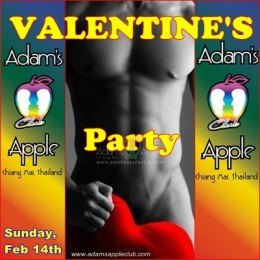Valentine's Party Gay Bar Chiang Mai