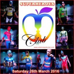 Superheroes Adams Apple Gay Club Chiang Mai