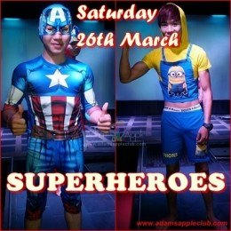 Superheroes Adams Apple