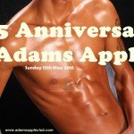 25 anniversary Adams Apple Club