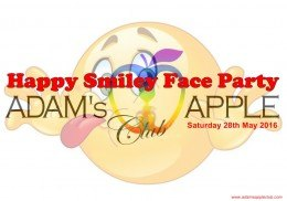 Happy Smiley Face Party Adams Apple