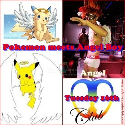 Pokemon meets Angel Boy