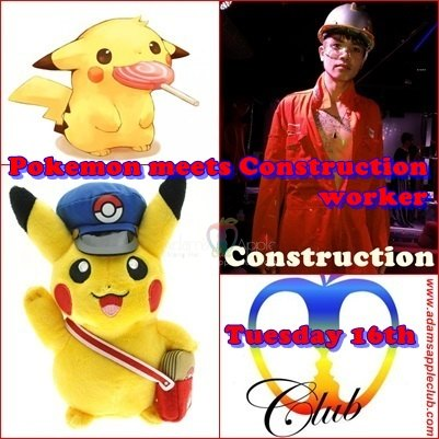 Pokemon meets Construction worker