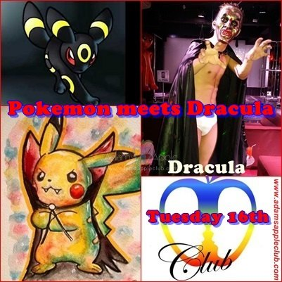 Pokemon meets Dracula