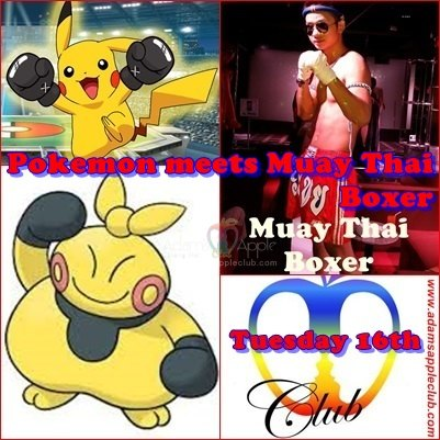 Pokemon meets Muay Thai Boxer