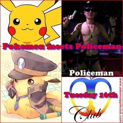Pokemon meets Policeman