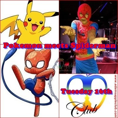 Pokemon meets Spiderman