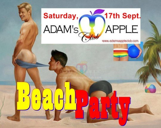 Beachparty Admas Apple Club