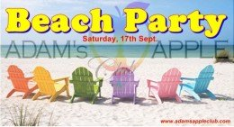 """Party of the months """"Beach Party"""""""