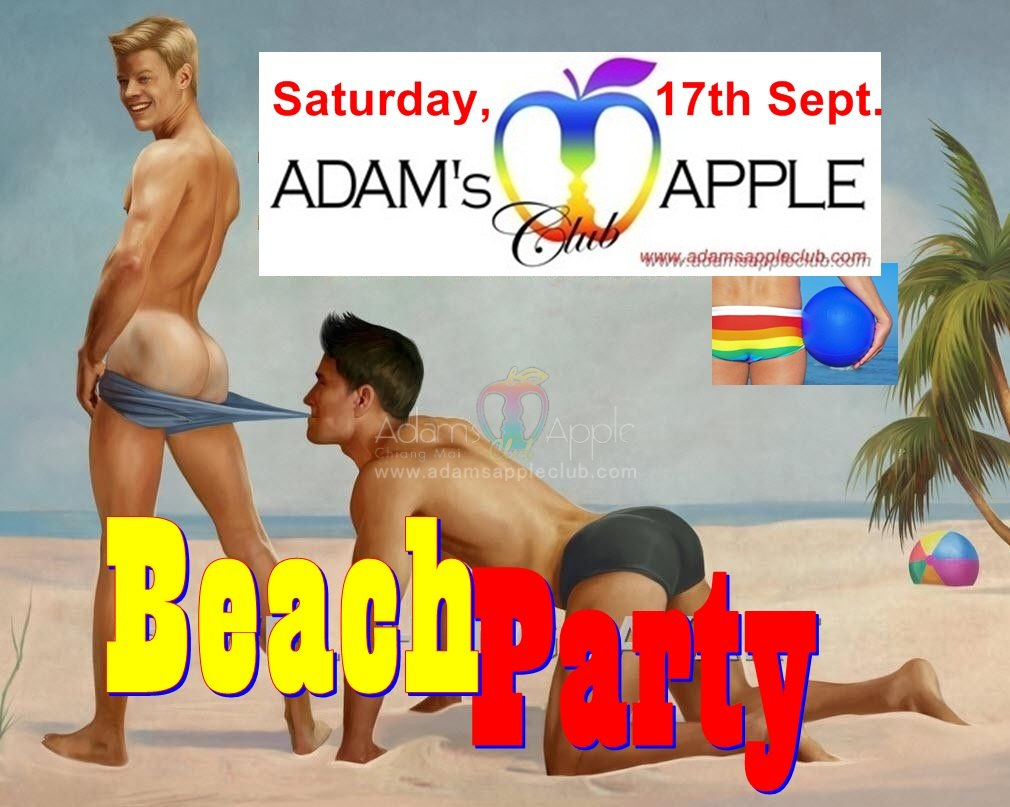 Beach Party Admas Apple Club