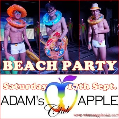 Beach Party Adams Apple Club