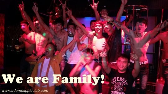 We are Family III Adams Apple Club Gay Bar Chiang Mai