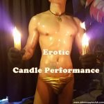 Erotic Candle Performance