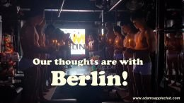 Our thoughts are with Berlin.