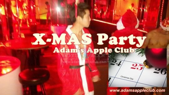 X-MAS Party @ Adam's Apple Club