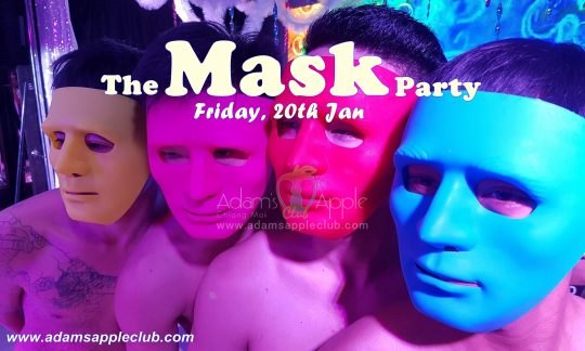 The Mask Party Adams Apple Club