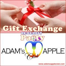 Gift Exchange Party Adams Apple Club
