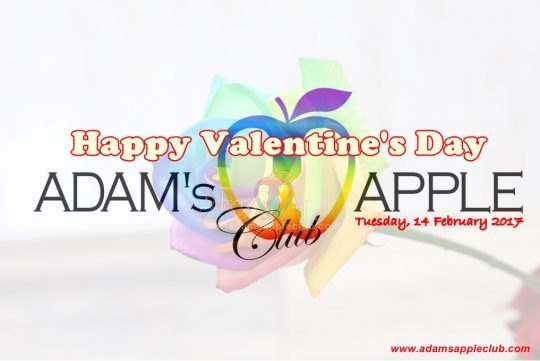 Valentine's Day 2017 Adams Apple Club Banner