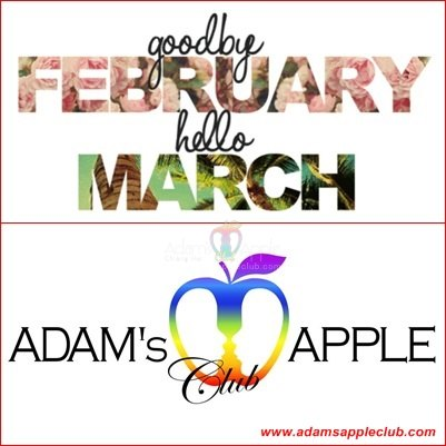 Goodbye February Heloo March Adams Apple