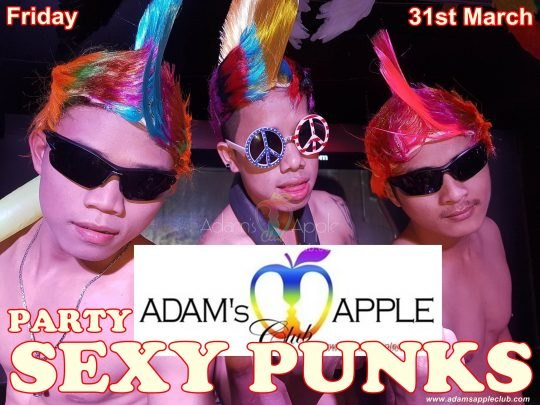 Sexy Punks Adams Apple Club