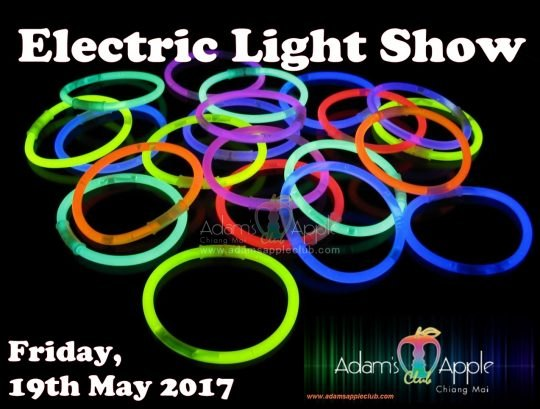 electric light show Adams Apple Club