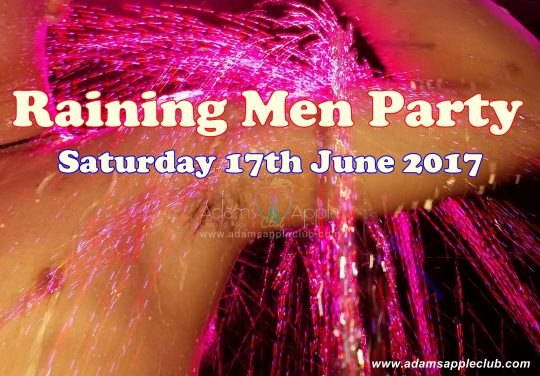 Raining Men Party Adams Apple Club