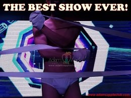The best show ever Adams Apple Club