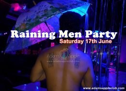 Raining Men Adams Apple Club 2017