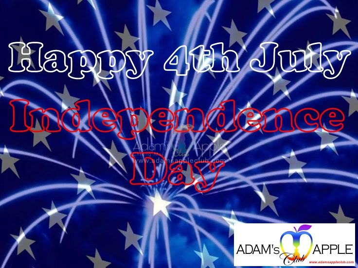 """We see YOU @Adam's Apple Gay Club Chiang Mai the No. 1 Gay Bar in town. Happy to see YOU to our """"Indenpendence Day"""" on 4th July."""