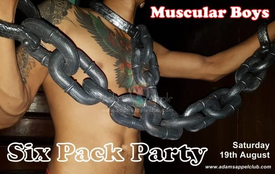 Muscular Boys Mister Sic Pack Adams Apple Club