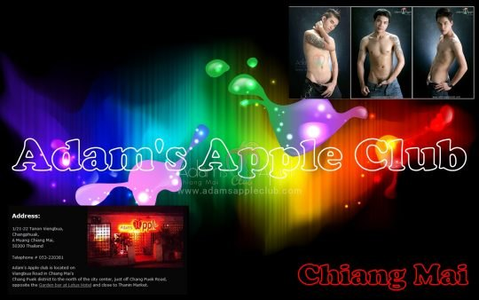 Adams Apple Club Gay Life Chaing Mai
