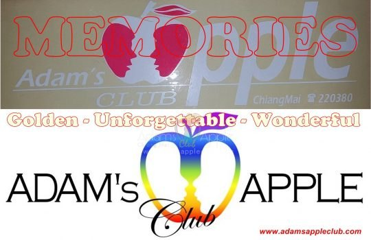 Memories Adams Apple Club Chiang Mai first Logo