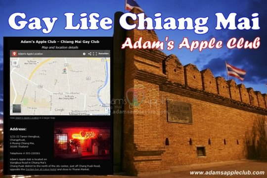 Chiang Mai Gay Scene Adams Apple Club